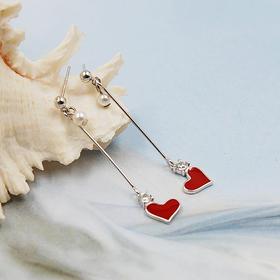 【心语】s925时尚银耳饰