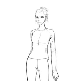BODYTIME EMS智能训练服女士上衣(不含配件)