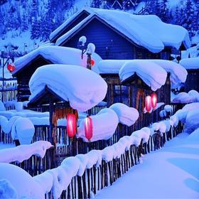 【冰雪臻品 】5日精品小包团,雪乡、镜泊湖、亚布力滑雪、摩天雪轮徒步、横道小镇纯玩体验!