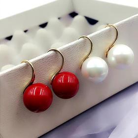 【清仓特价 不退不换】YMDZ-B387新款韩版珍珠纯银耳钉TZF