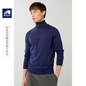 墨麦客男装2019年冬季新款高领毛衣男厚款韩版男士羊毛衫潮流3179