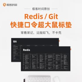 Git / Redis 原创快捷口令超大鼠标垫