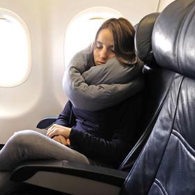 可变形成靠垫|坐垫|围脖|眼罩infinity pillow旅行枕头