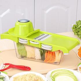 切菜神器 多功能切菜器 土豆刨丝器厨房工具切菜器不锈钢切菜神器