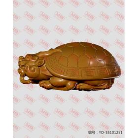 YD-SS101251 龙龟 把件 立体圆雕图纸