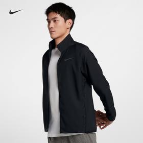 Nike耐克 DRI-FIT男款梭织跑步训练夹克外套 - 舒适导湿,自由无拘