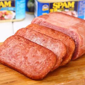 """足足火了80年的""""午餐肉鼻祖""""!SPAM 世棒午餐肉!肉香四溢,紧实Q弹!好吃到停不下来!美味卫生,精选原料,猪肉含量高于90%"""