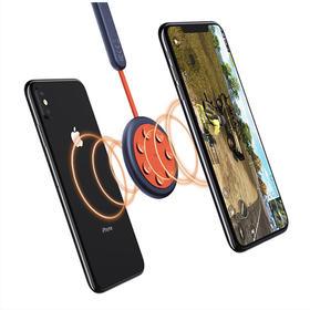 无线充电 ROCK充电吸盘  边充边玩 双面无线充电器