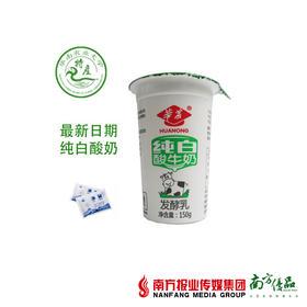 【团】华农纯白酸牛奶