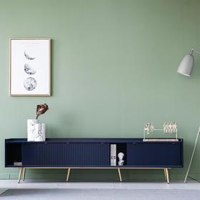 DF北欧简约电视柜客厅现代小户型卧室实木电视柜茶几组合地柜