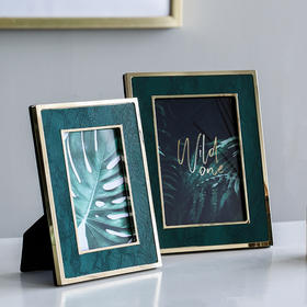 创意小清新相框家居饰品摆件客厅梳妆台酒柜玄关办公室桌面相片框