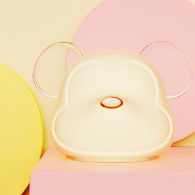 幻响变色萌鼠拍拍灯可调节亮度   金鼠纳福减压利器,7种颜色与渐变模式随心调整