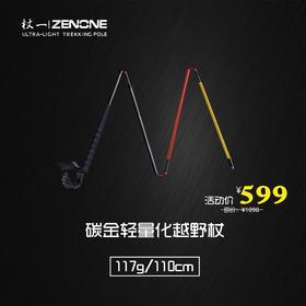 杖一碳金轻量化越野杖 Z1902(一对)
