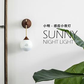 【为思礼】小明感应小夜灯  智能人体感应 USB供电 引力美学设计 磁吸设计 柔美暖色LED灯光 有格调的感应灯