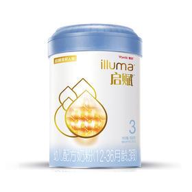 惠氏 启赋 蓝钻 3段 幼儿配方奶粉 900g