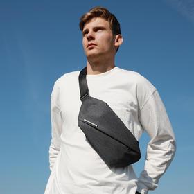 【都市硬核风潮】NIID机能胸包 R0单肩斜挎腰包 不鼓包休闲多隔层速取
