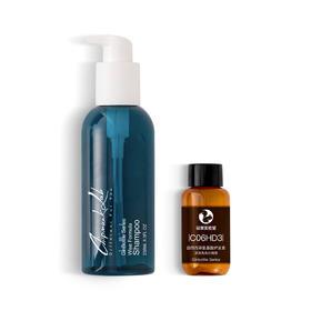 花栗实验室 洗发水护发素 洗出天生好头发 油腻扁塌 中干头屑 烫染损伤
