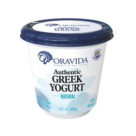 兰维乐新西兰原装进口希腊原味酸奶800g装