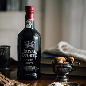 [宝石红波特酒]2018年份 加强型甜葡萄酒 葡萄牙荣耀波尔图酒庄  750ml