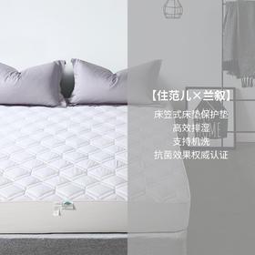 兰叙 床笠式床垫保护垫
