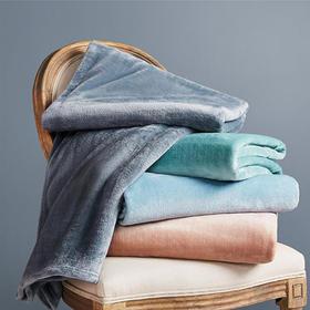 保暖午睡毯办公室单人毛毯 法兰绒沙发毯子毛巾被a1127