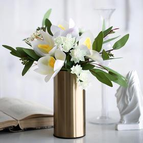 北欧风时尚玉兰花艺创意小清新家居饰品假花仿真花整体花艺装饰品