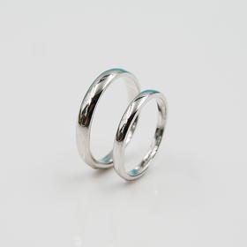 【情系指间 】s925银情侣对戒 戒指