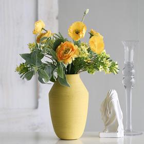 时尚小清新元气满满花艺创意家居仿真花假花整体花艺室内装饰品