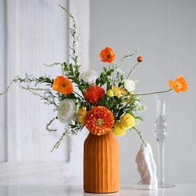 时尚家居仿真花艺把束花仿真花艺花瓶创意小清新室内装饰品摆件