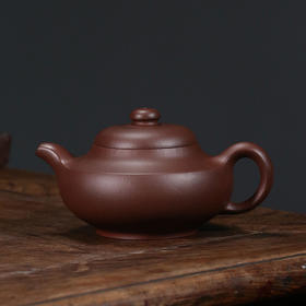 国家级高级工艺美术师袁国强大师手工制作紫砂壶——和玉