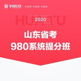 2020山東省考系統提分班07期