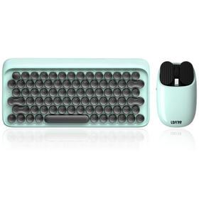 洛斐圆点蓝牙机械键盘+薯片蓝牙鼠标