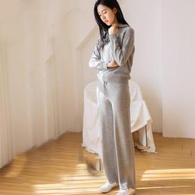 Soleil Kim 2019新款羊绒套装 冬日保暖 温和绵柔 时尚简约