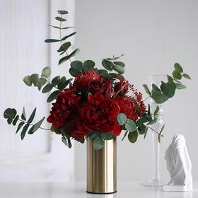 北欧风把束花艺创意家居饰品摆件假花仿真花室内装饰品桌面摆件
