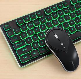 【键鼠套餐】无线键盘鼠标套装游戏办公家用静音真机械手感笔记本电脑键鼠套装