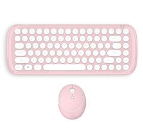 【键鼠套餐】2.4G迷你无线键盘朋克巧克力键帽无线键鼠办公小键盘鼠标定制套装