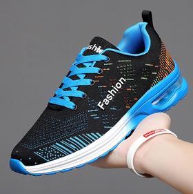 【潮流鞋子】网布跑步鞋运动男鞋低帮气垫鞋男女情侣鞋