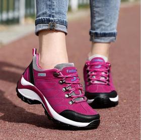 【潮流鞋子】登山鞋女户外鞋徒步鞋透气越野跑鞋旅游运动鞋