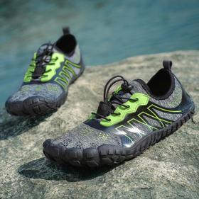 【潮流鞋子】五指涉水鞋绑带款越野防滑鞋户外男鞋舒适透气游泳鞋沙滩鞋