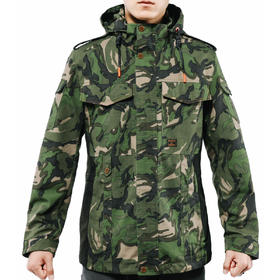 【大五叶迷彩】南疆卫士2.0战术三防外套