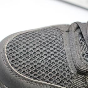 【潮流鞋子】消防黑色训练鞋男女透气防滑耐磨越野跑鞋休闲户外登山鞋