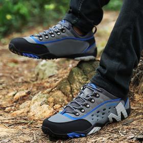 【潮流鞋子】登山鞋男休闲户外徒步鞋女鞋越野跑鞋防水防滑
