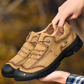 【潮流鞋子】秋冬新款防滑耐磨减震山地鞋野营旅游越野鞋