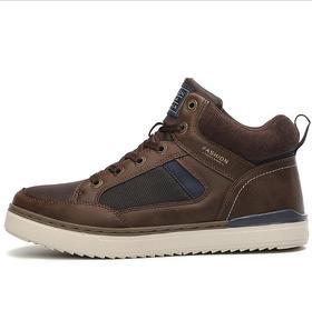 【潮流鞋子】秋冬棉质款新品登山鞋跨境大码高帮户外徒步鞋男士越野跑鞋