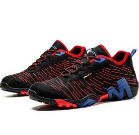 【潮流鞋子】户外减震网鞋低帮超轻越野跑鞋徒步登山鞋男