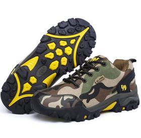 【潮流鞋子】春夏款情侣款户外登山鞋男士透气徒步旅游鞋防滑耐磨越野鞋女鞋