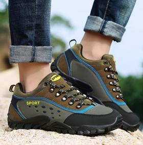 【潮流鞋子】外登山鞋 冬季男鞋情侣款防滑跑步鞋徒步鞋旅游跑步鞋