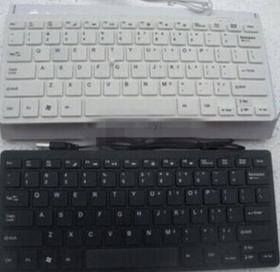 【键盘】K1000超薄时尚巧克力小键盘笔记本键盘|迷你平面USB键盘