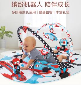 幼奇多Yookidoo宝宝游戏毯爬行垫儿童益智玩具婴儿健身架玩具毯