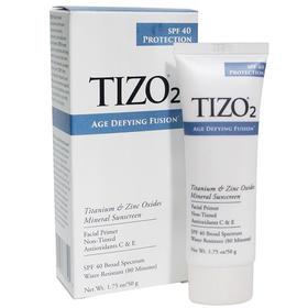 TIZO2物理防晒霜 成膜快不搓泥,提亮肤色不假白